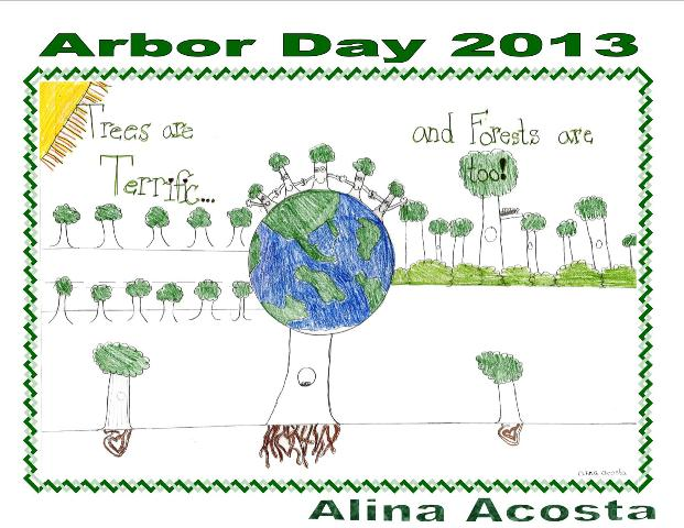 Arbor Day cards