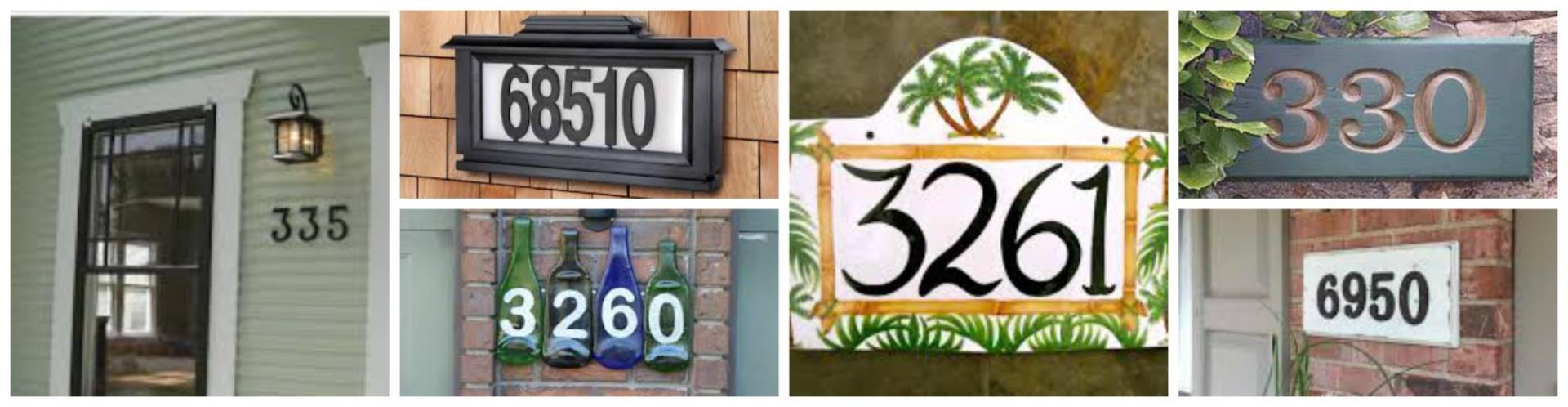 PicMonkey Collage House numbers