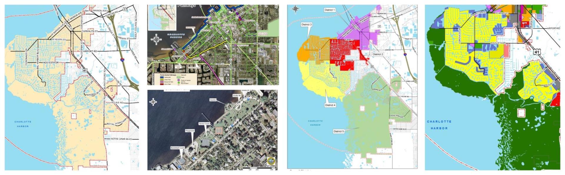 show punta gorda on florida map