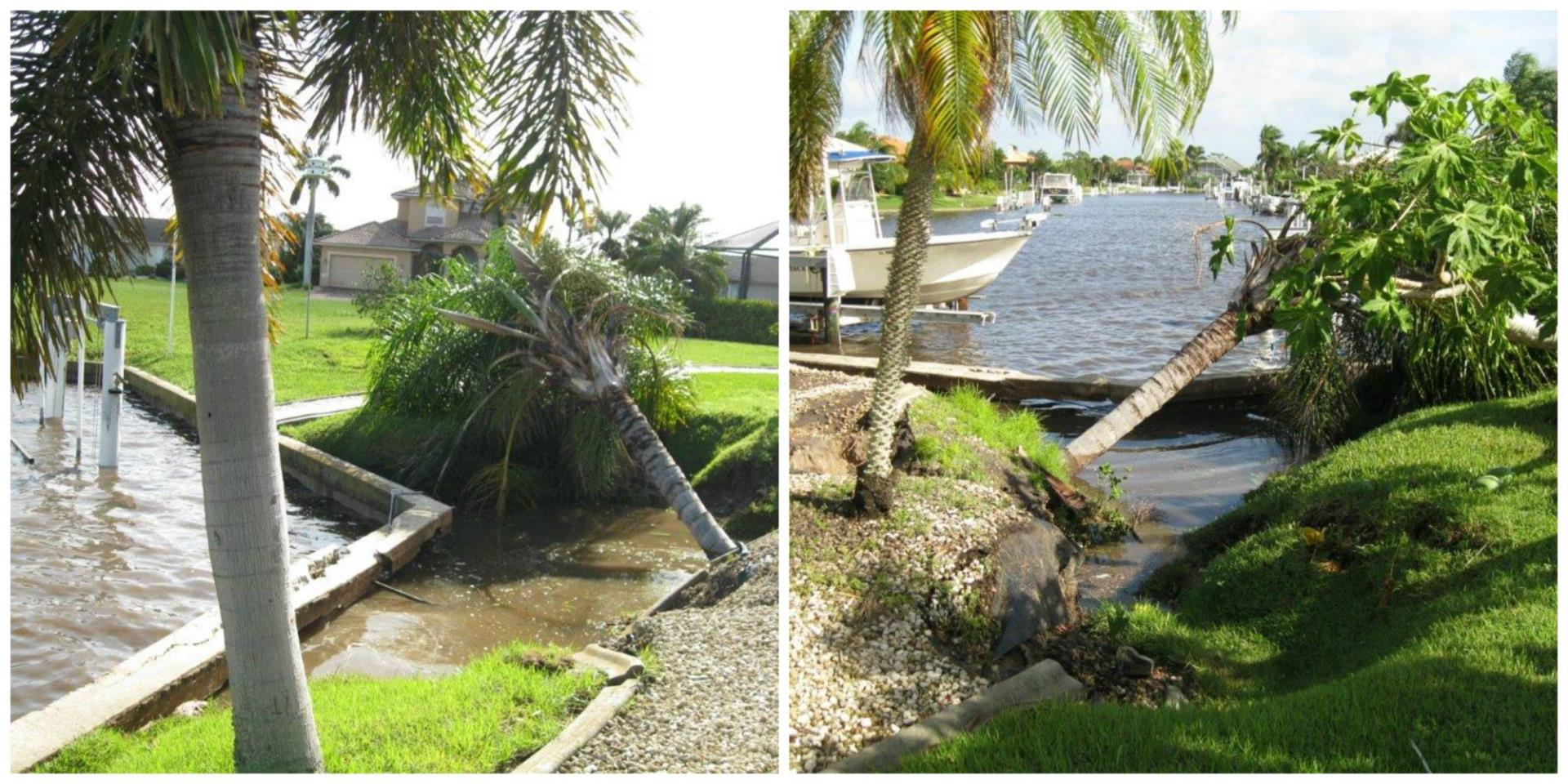 IRMA Seawall Damage