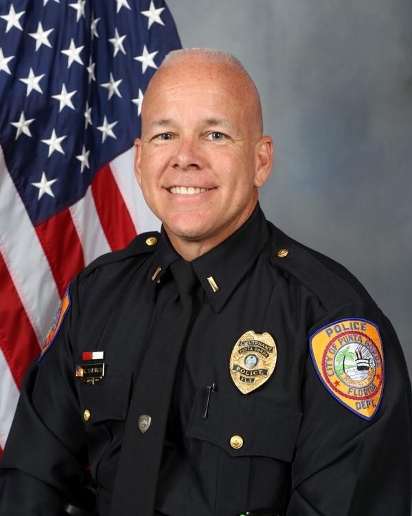 Lieutenant Chris Salsman