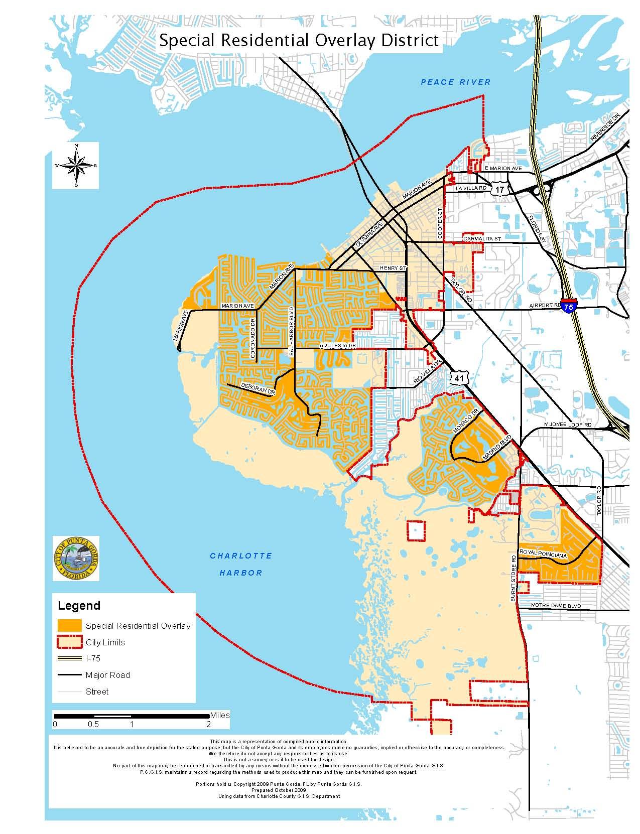 Map Of Punta Gorda Florida.Real Estate Signs City Of Punta Gorda Fl