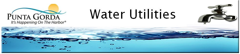 Map Of Punta Gorda Florida.Utilities Water Wastewater City Of Punta Gorda Fl