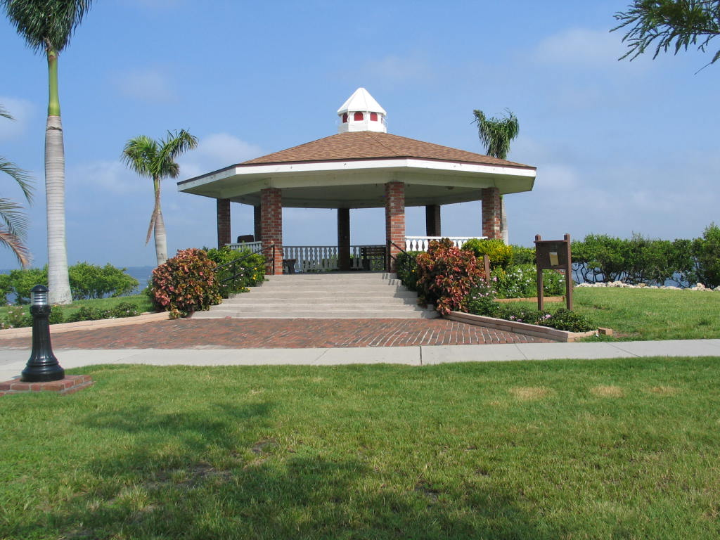 gilchrist gazebo along the harbor