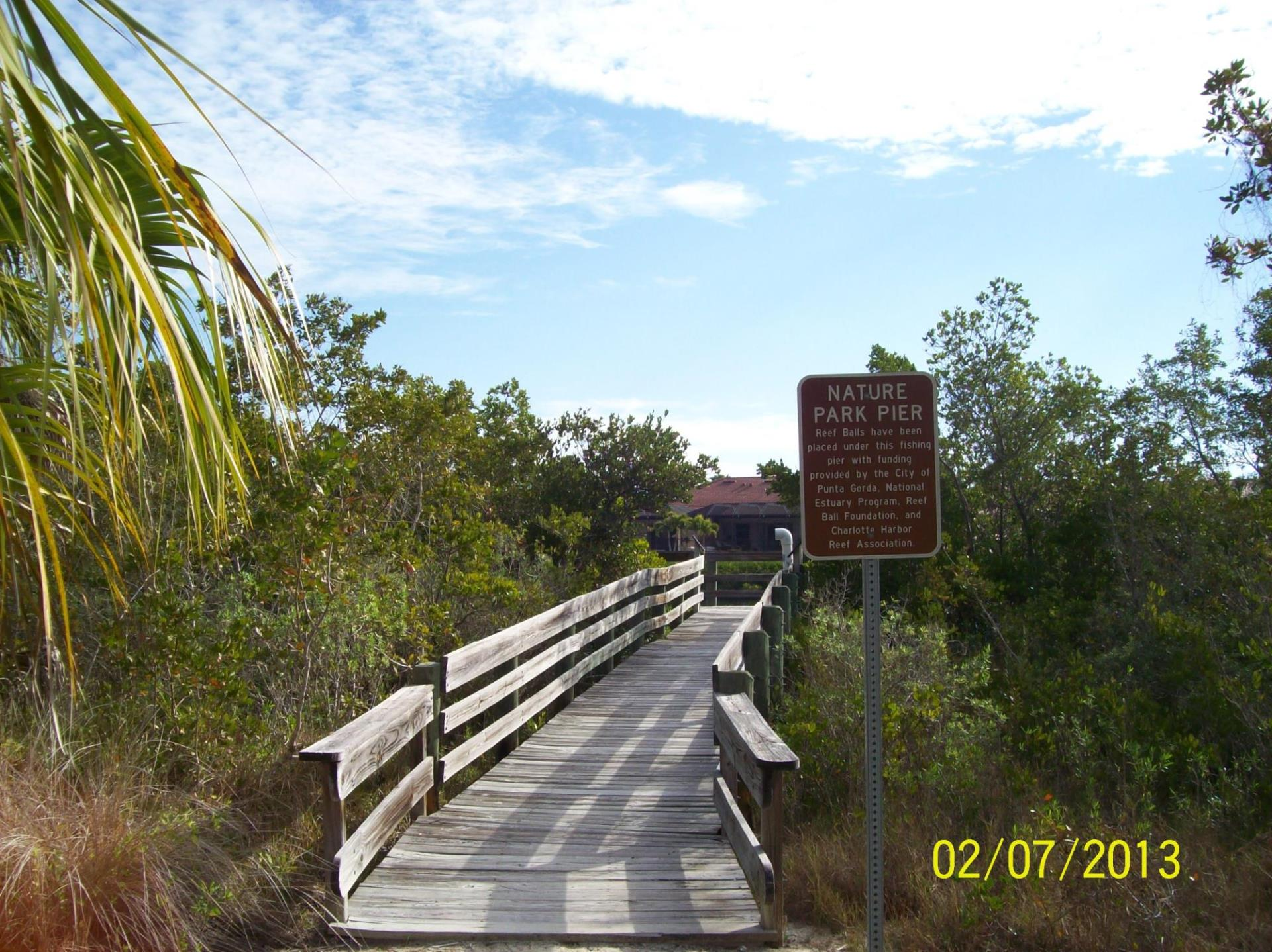 picture of the nature park pier