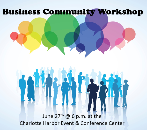Image of Presentation logo Business Community Workshop.