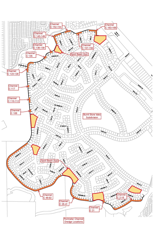 BSI Perimeter Channel Dredge Map 072817